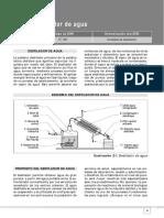 Destilador Bidestilador de Agua Manual Servicio Ref_SP