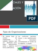 Redes Sociales y Tipos de Organización