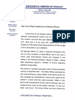 Letter to City Leadership Correct