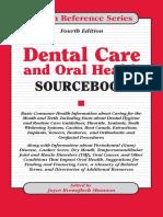 Dental Care and Oral Health Sourcebook - Omnigraphics; 2 Sub edition (November 1, 2003).pdf