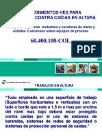 60-400-108-Procedimiento Hes-9- Protección Contra Caídas en Altura