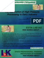 thomas-zafiriadis-pan-hellenic-association-of-food-technologistsgreece The Application of High Pressure Processing in Dairy Industry.pptx