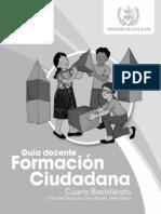 Guía Formación Ciudadana_cuarto Bachillerato