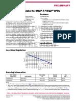 ISL95836 Datasheet - Dual 3+2 PWM Controller - Intersil Renesas