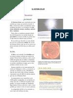 El Sistema Solar Acti
