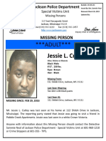 Jackson Missing Persons