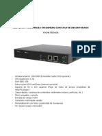 Servidor Multimedia Streaming Wifi