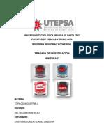TOPICOS INDUSTRIALES INFORME PINTURAS.docx
