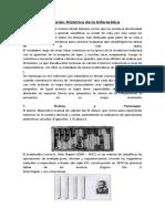 Evolución Histórica de La Informática