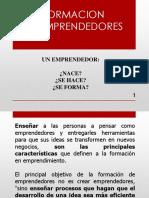 Formacion de Emprendedores