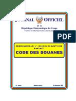 Ordonnance Loi n10 002 Portant Code Des Douanes (1)