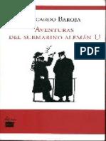 Aventuras del submarino aleman U - Ricardo Baroja.pdf