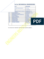 Psu Reference Books Mechanical