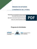 Programa Jornadas Del Litoral