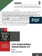 CCNP3v5 Module 1