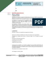 Especificaciones técnicas de contingencia-arquitectura