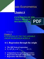 7basic Econometrics Chapter Vi