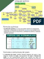 Fórmulas químicas mapa conceptual