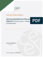 Nota de Poliìtica Puìblica 03 (2019)