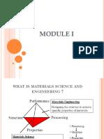 Module 1 material science