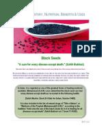 Kalonji (Black Seeds) Benefits
