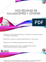 Derechos Sexuales de Adolescentes y Jóvenes
