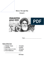 Argo and Iran Hostage Crisis Test.docx