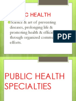 Public Health SpecialistpptBSN2B