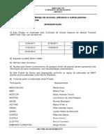 Norma Técnica de Poda Urbana - ABNT CEE 103 - 2013