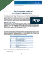 Administración de Archivos y Directorios en Linux