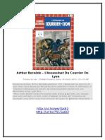 Arthur Bernède – L'Assassinat Du Courrier de Lyon