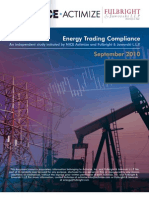 Actimize Energy Trading Compliance Research 2010
