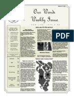 Newsletter Volume 10 Issue 12
