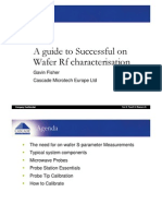 A Guide to Successful on Wafer Rf Character is at Ion