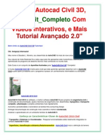 Curso Autocad Civil 3D_6 DVDs Completos