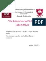 Problemas del Sistema Educativo.docx
