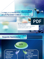 Triage y Evaluacion Nutricional Gutierrez 2009
