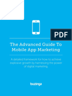 The Advanced Guide to Mobile App Marketing