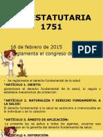 ley estatutaria.pptx