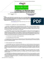 El Medio Ambiente y La Educación Física_ Una Propuesta Didáctica Interdisciplinar