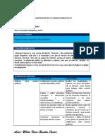 FCC - Planificación Unidad 3 - 5to Grado