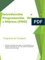 1.1 Introduccion a La Programacion Orientada a Objetos Ok