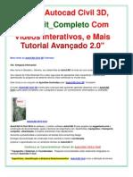 Curso AutoCAD Civil 3D em Vídeo Aula | |Kit Autocad Civil 3D Completo! Frete Grátis!!!