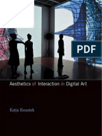 (TRADUÇÃO) KWASTEK Katja Aesthetics of Interaction in Digital Art