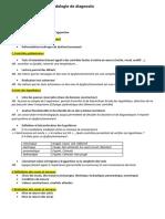 Points Cles de La Methodologie de Diagnostic
