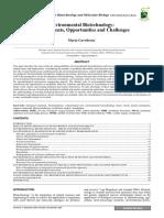 Gavrilescu Et Al 2009 Environmental Biotechnology