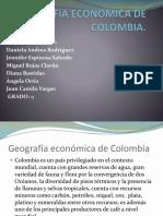 Geografia Economica de Colombia
