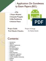 Android  Application On Gondwana.pptx