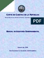 Manual de Auditoría Gubernamental (Versión Final)