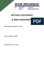method statement & risk assessment.doc